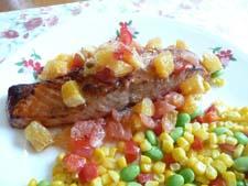 Citrus Salsa Salmon225