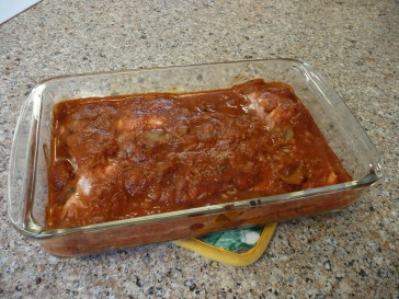 Salmon Spaghetti a